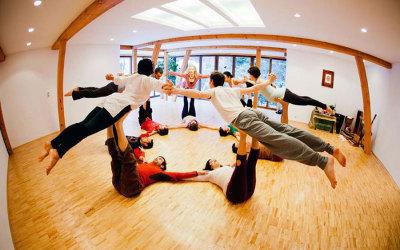 Weihnachtlicher Acro Yoga Workshop 19.-21. Dezember 2014