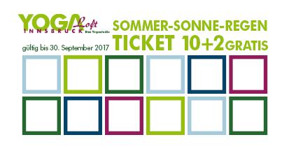 Sommer-Sonne-Regen Ticket