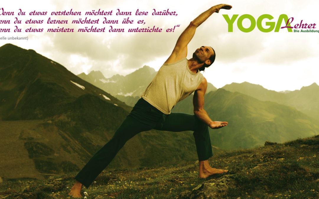 Yogalehrer Yogalehrerinnen Ausbildung in Tirol