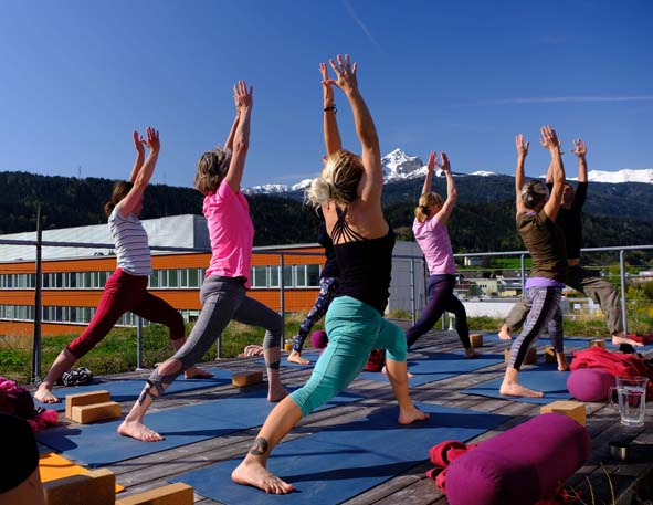 Internationaler Tag des Yoga am 21. Juni